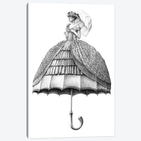 Umbrella Canvas Print #RHK25} by Redmer Hoekstra Canvas Wall Art