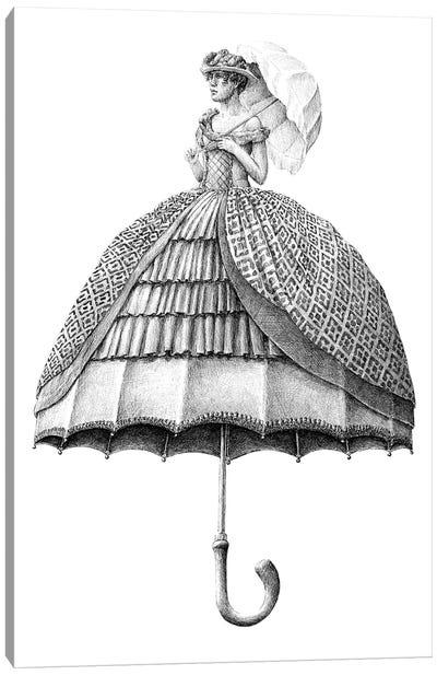 Umbrella Canvas Art Print