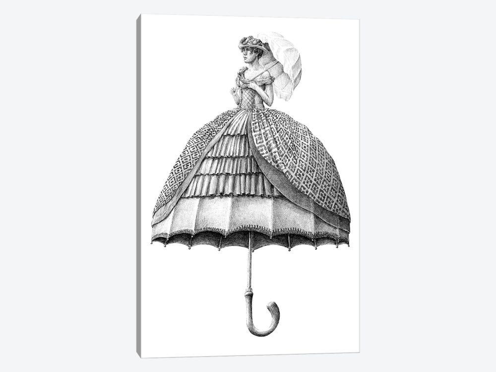 Umbrella by Redmer Hoekstra 1-piece Canvas Artwork