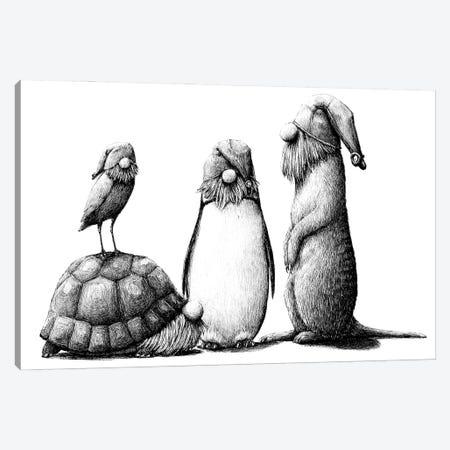 Zoo Canvas Print #RHK27} by Redmer Hoekstra Canvas Art