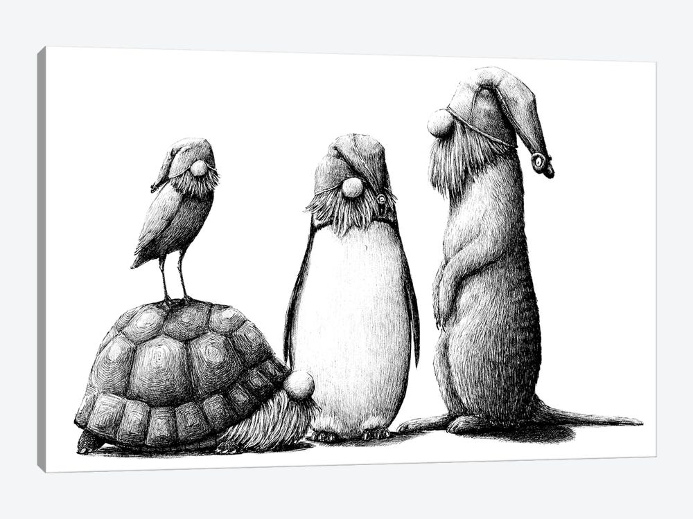 Zoo by Redmer Hoekstra 1-piece Canvas Wall Art