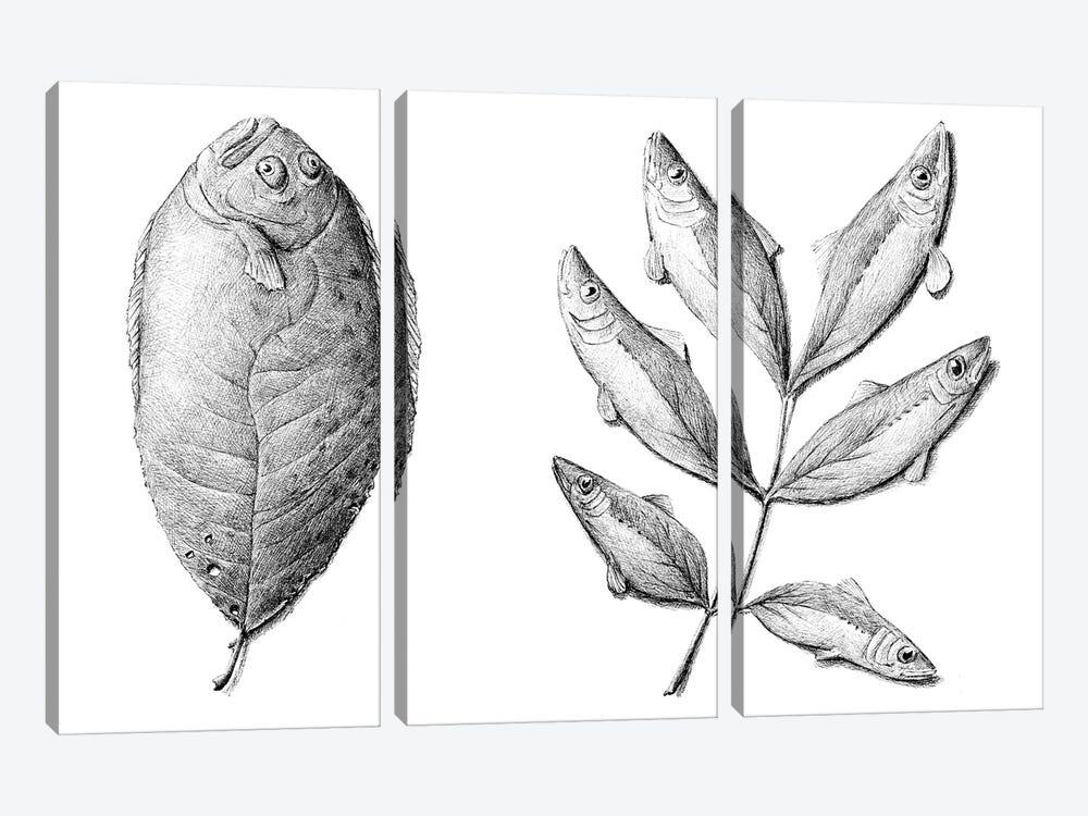 Fish by Redmer Hoekstra 3-piece Canvas Artwork