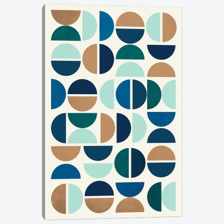 Mid Century Modern I Canvas Print #RHL3} by Rachel Lee Canvas Print