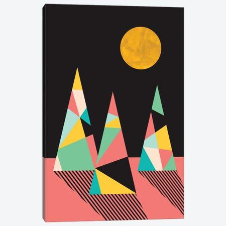 Under The Moon Canvas Print #RHL42} by Rachel Lee Canvas Artwork