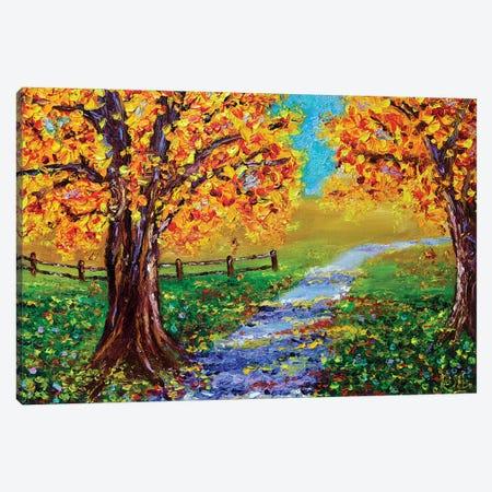 Autumn Glory Canvas Print #RHN40} by Rohini Mathur Canvas Artwork
