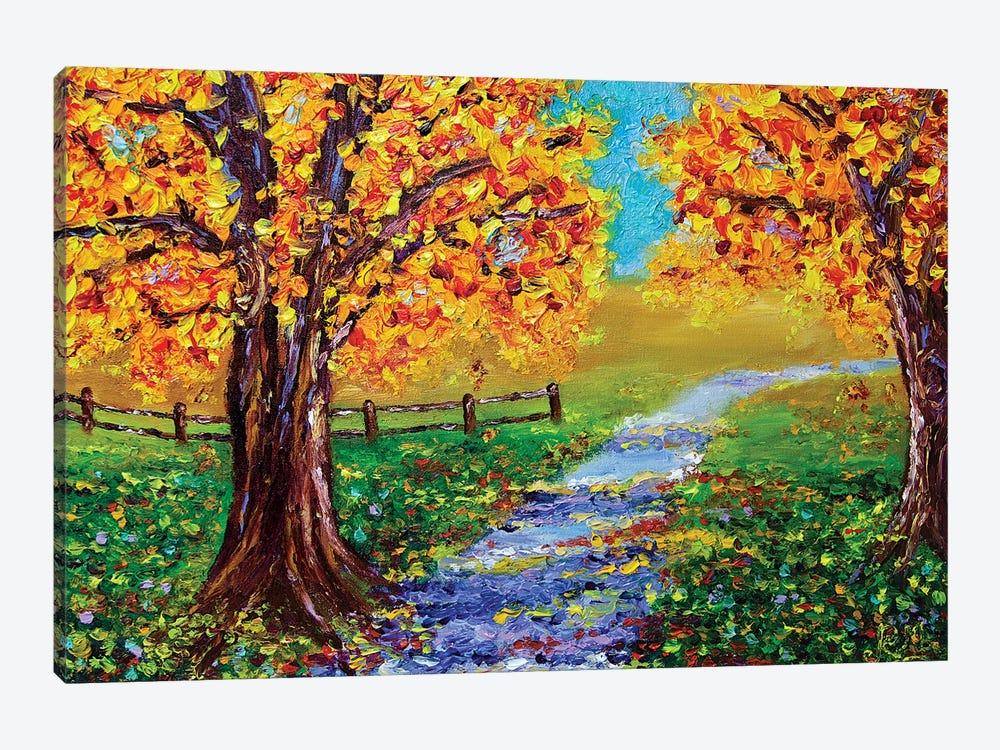 Autumn Glory by Rohini Mathur 1-piece Canvas Print