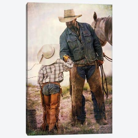A Job Well Done Canvas Print #RHT50} by Rhonda Thompson Canvas Art Print