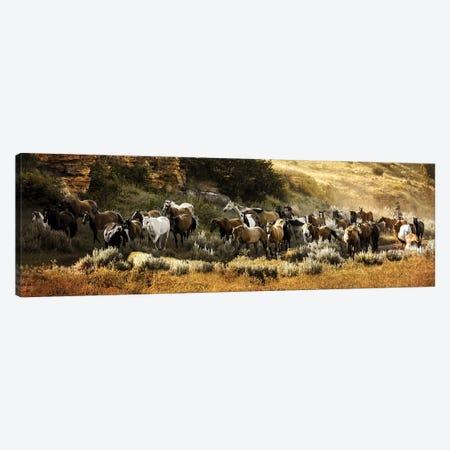 Canyon Round Up Canvas Print #RHT5} by Rhonda Thompson Canvas Art Print