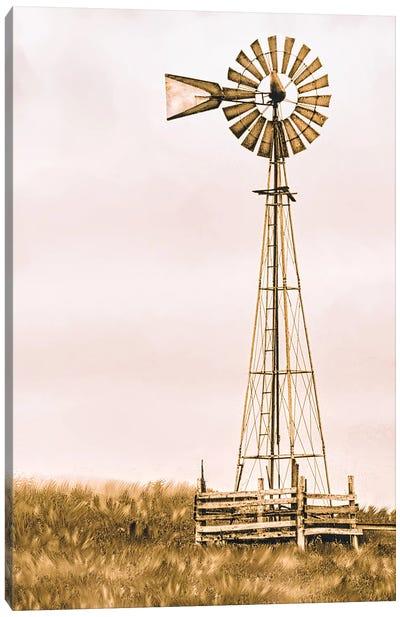 The Windmill Canvas Art Print