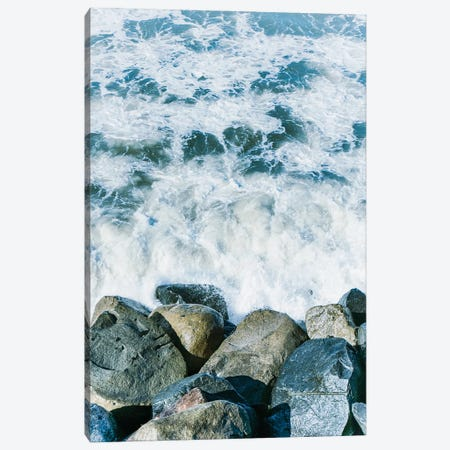 Coastal Layers I  Canvas Print #RHW29} by Ryan Hartson-Weddle Art Print