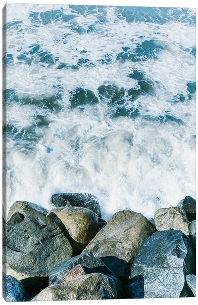 Coastal Layers I  Canvas Art Print
