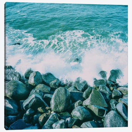 Coastal Layers IV  Canvas Print #RHW30} by Ryan Hartson-Weddle Canvas Artwork