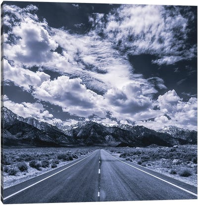 Sierra Blues III Canvas Art Print