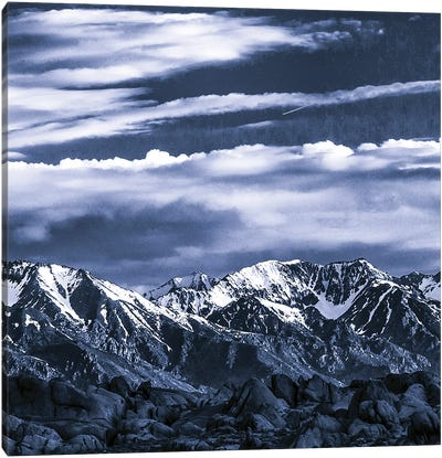 Sierra Blues VI Canvas Art Print