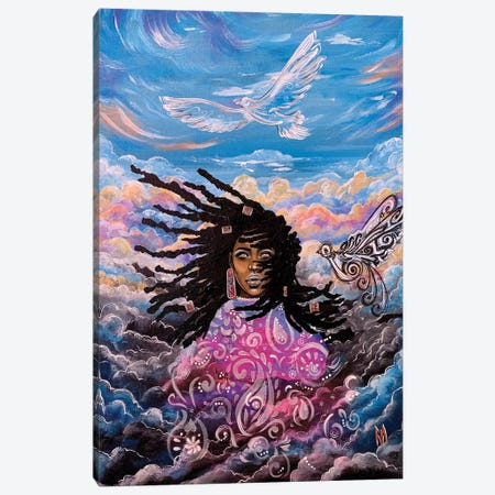 """So Have No Fear; You Are Worth More Than Many Sparrows!"""" - Matthew 10:36 Canvas Print #RIA100} by Artist Ria Canvas Artwork"""