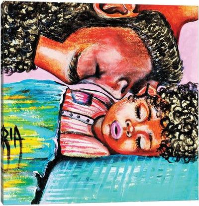 Good Night Kiss Canvas Art Print