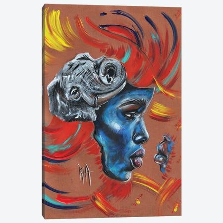 Mama... I Won't Forget You! Canvas Print #RIA115} by Artist Ria Canvas Wall Art