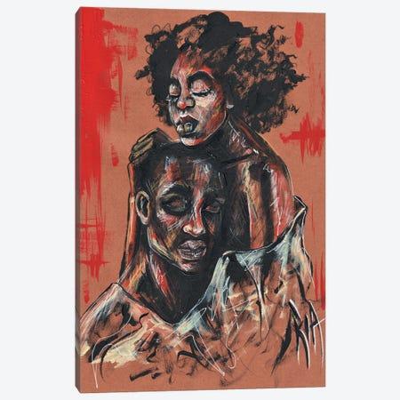 I Hear You! Canvas Print #RIA116} by Artist Ria Canvas Art
