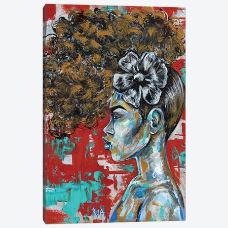 You're Too Pretty To Have An Attitude! Canvas Print #RIA119} by Artist Ria Canvas Art Print