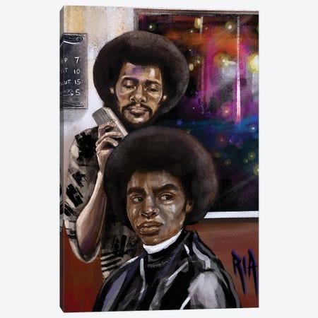 Closing Time Canvas Print #RIA122} by Artist Ria Canvas Wall Art