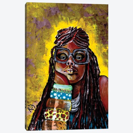 Daze Like This Canvas Print #RIA12} by Artist Ria Art Print