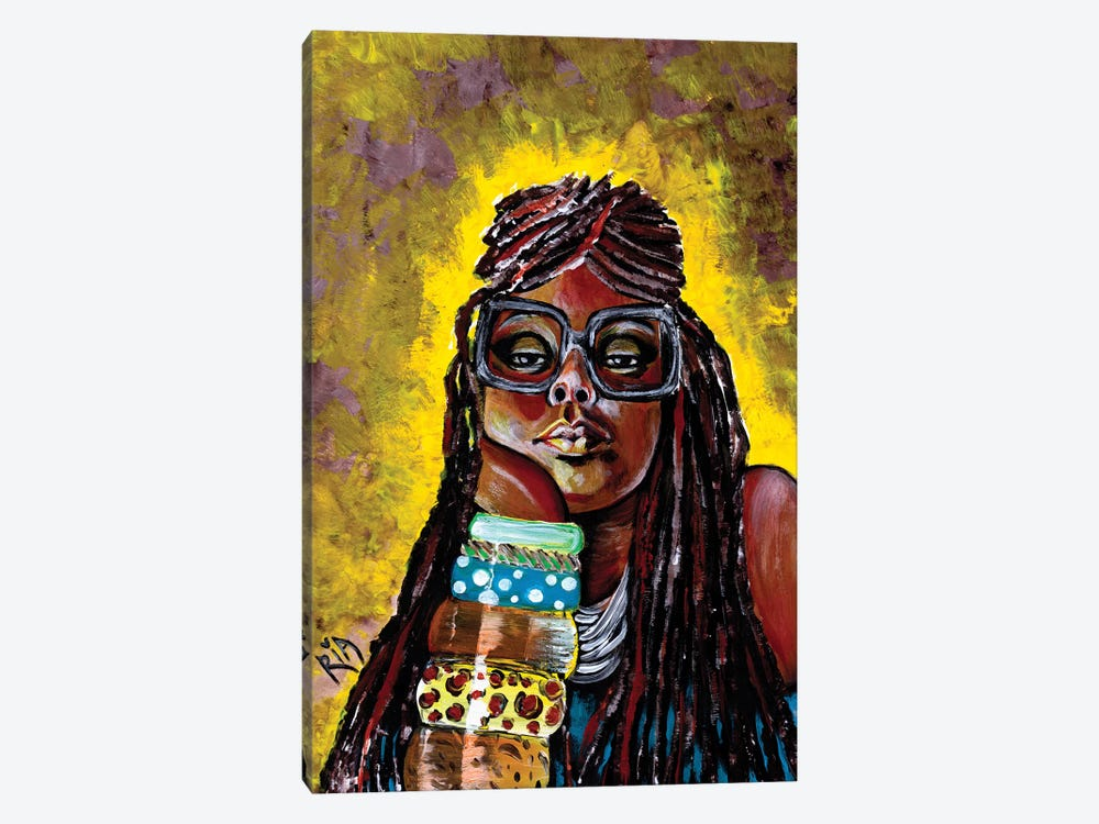 Daze Like This by Artist Ria 1-piece Canvas Art