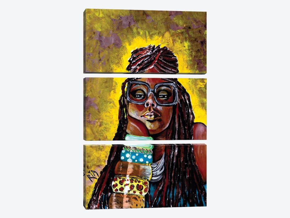 Daze Like This by Artist Ria 3-piece Canvas Artwork