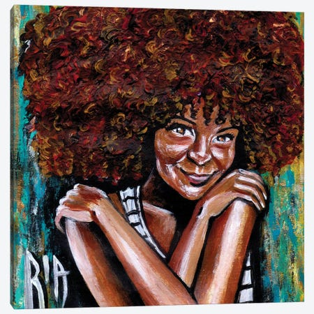 Embrace Yourself Canvas Print #RIA13} by Artist Ria Canvas Art Print