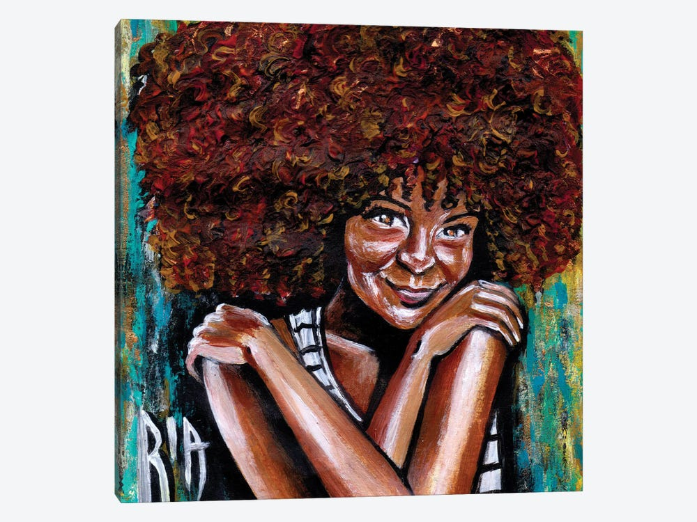 Embrace Yourself by Artist Ria 1-piece Canvas Print