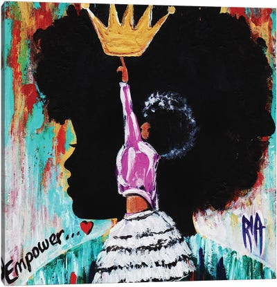 Empower Canvas Art Print