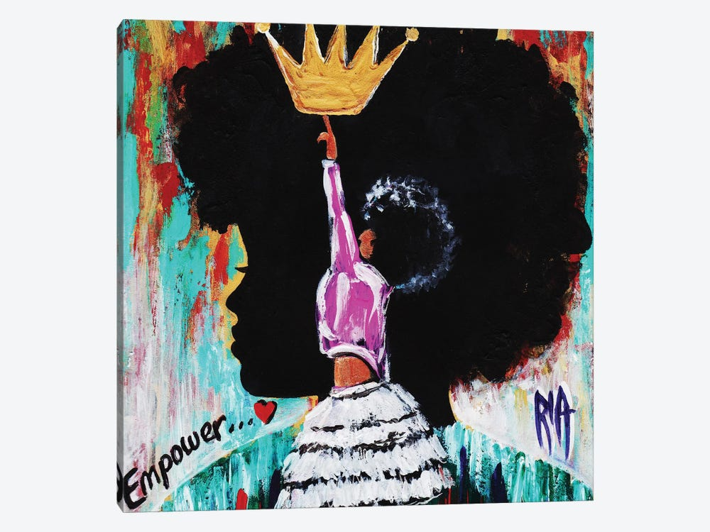 Empower by Artist Ria 1-piece Canvas Wall Art