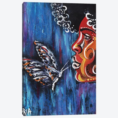 Fascination Canvas Print #RIA15} by Artist Ria Canvas Art