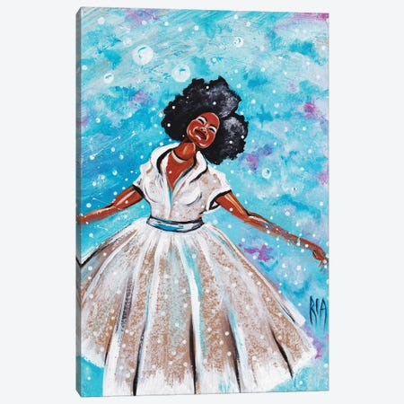 Feeling Free Canvas Print #RIA16} by Artist Ria Canvas Art