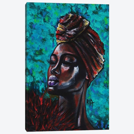 Feeling Royal Canvas Print #RIA17} by Artist Ria Canvas Art