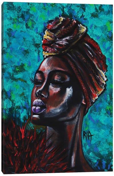 Feeling Royal Canvas Art Print