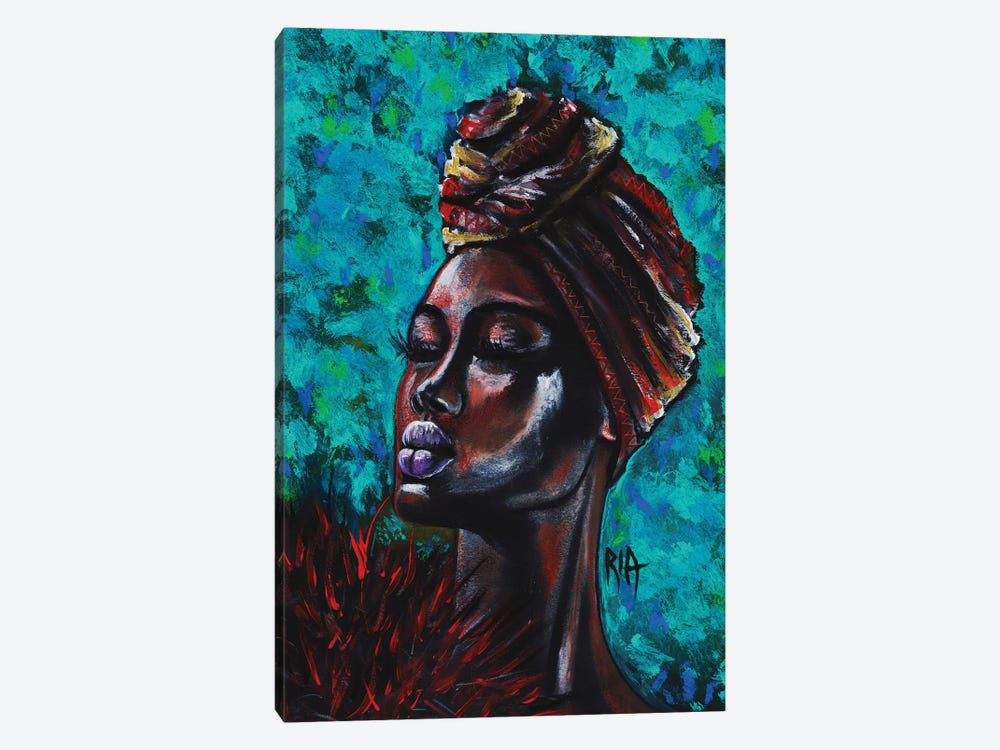 Feeling Royal by Artist Ria 1-piece Canvas Art Print