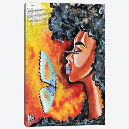 Flawed 3-Piece Canvas #RIA18} by Artist Ria Canvas Print