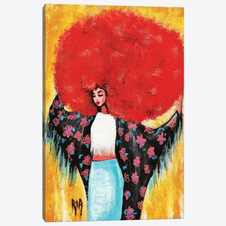 Flower Girl- Spring For Me Canvas Print #RIA19} by Artist Ria Canvas Print