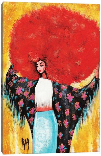 Flower Girl- Spring For Me Canvas Art Print