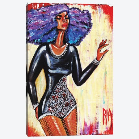 Glamorous Grace Canvas Print #RIA20} by Artist Ria Canvas Art