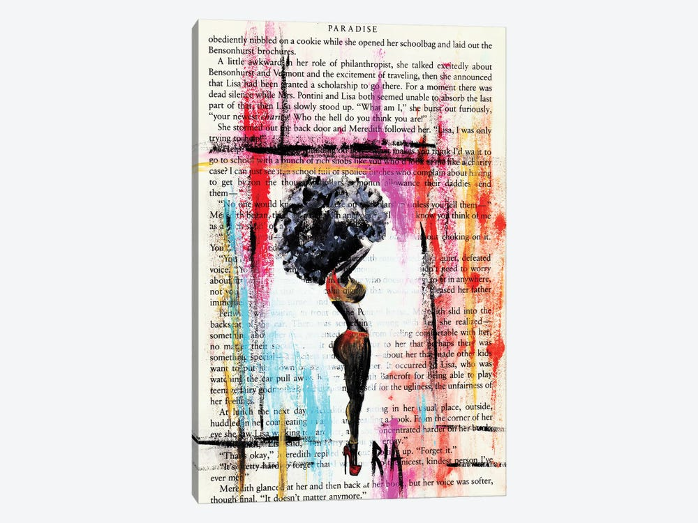 I Know What You Like... But She Is Not Me by Artist Ria 1-piece Canvas Art Print