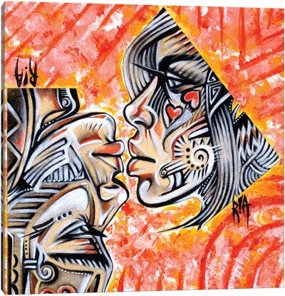 Intricate Intimacy Canvas Art Print