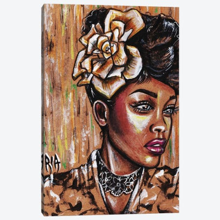 Intrigued 3-Piece Canvas #RIA31} by Artist Ria Art Print