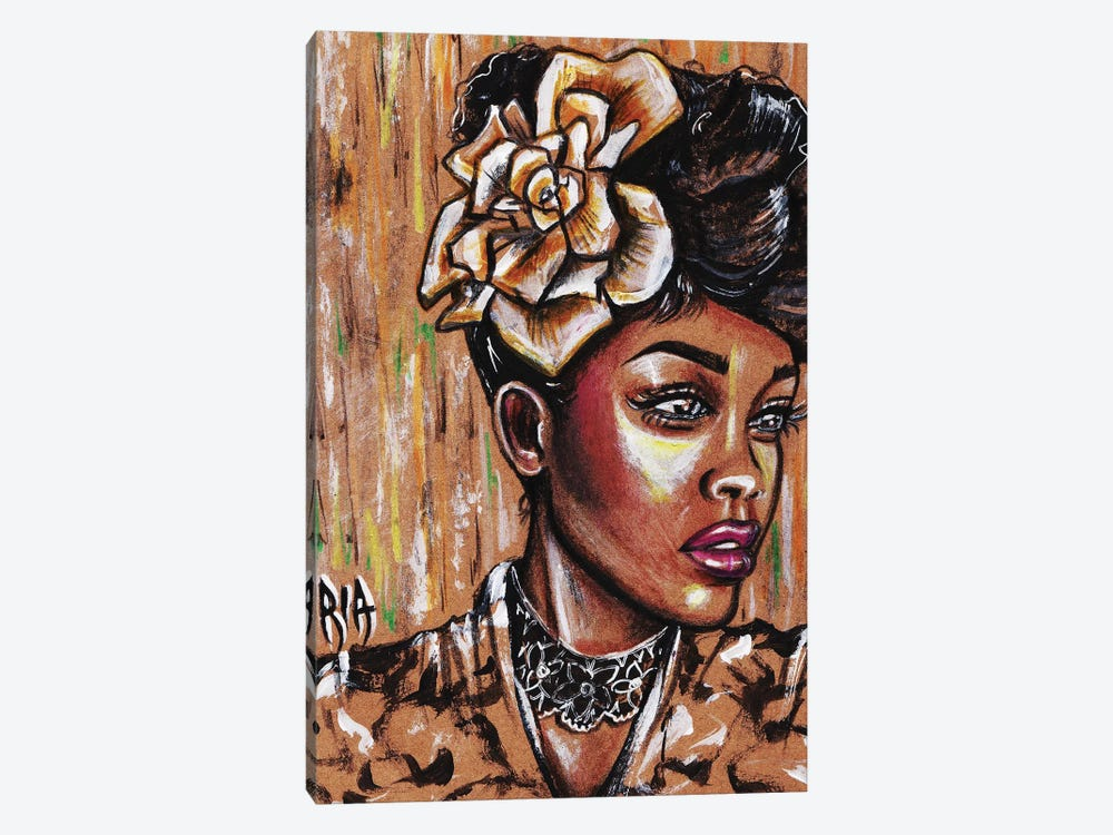 Intrigued by Artist Ria 1-piece Canvas Art Print