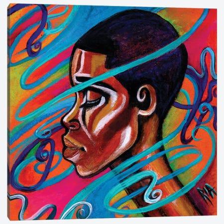 Laced Canvas Print #RIA33} by Artist Ria Art Print
