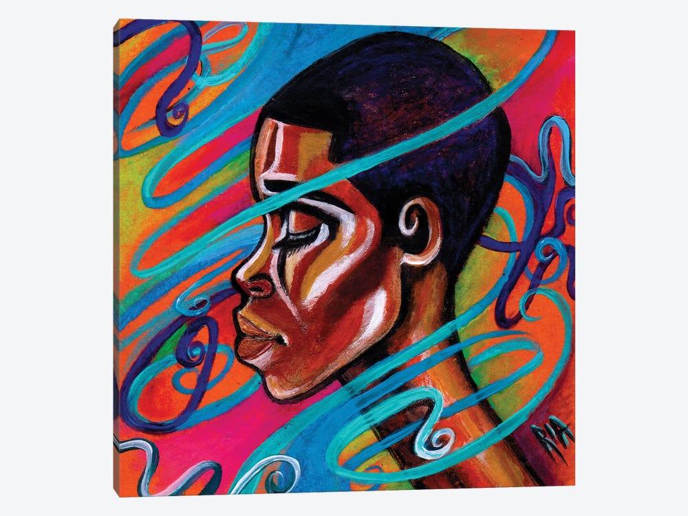 Laced by Artist Ria 1-piece Canvas Art Print