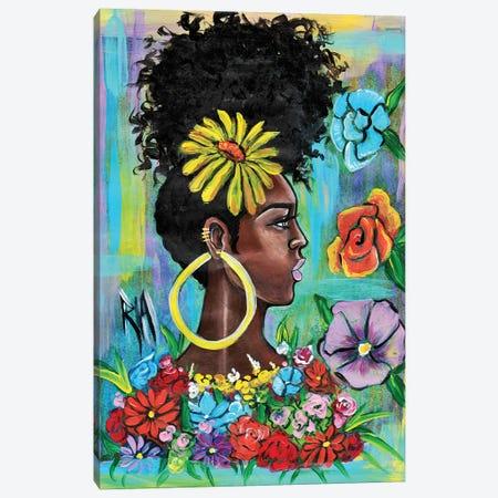 Late Bloomer Canvas Print #RIA34} by Artist Ria Canvas Wall Art