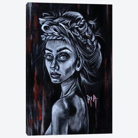 Leave Me Canvas Print #RIA35} by Artist Ria Canvas Wall Art
