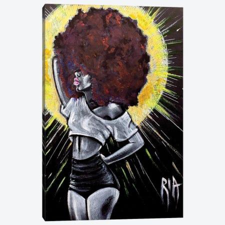 Let It Shine Canvas Print #RIA36} by Artist Ria Canvas Wall Art