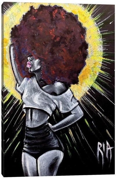 Let It Shine Canvas Art Print